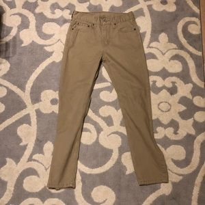 Levi's Men's 28x30 510 Khaki Jeans